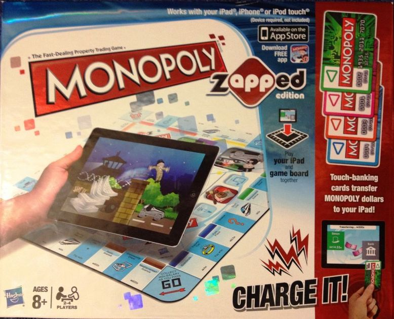 Monopoly Zapped Edition Board Game Boardgamegeek
