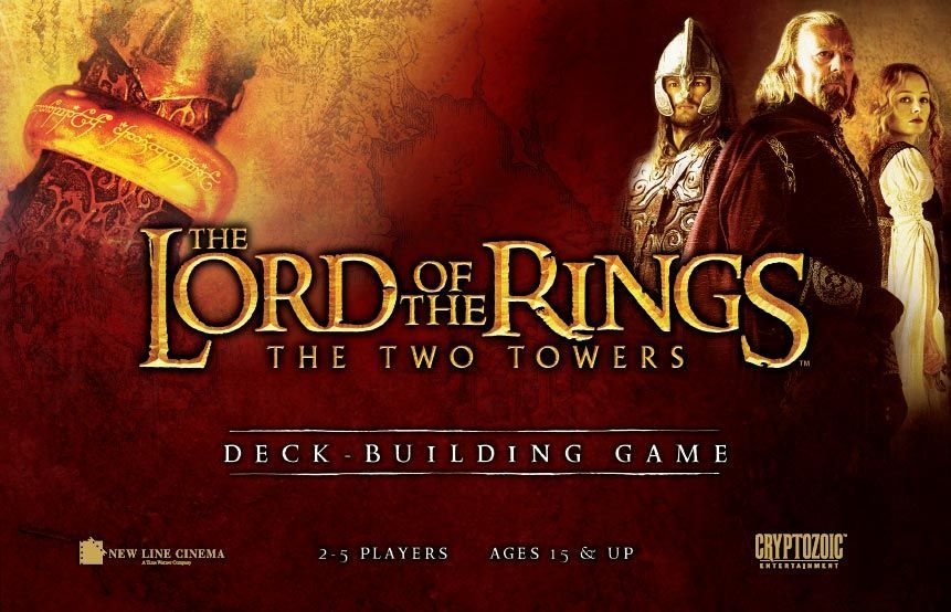 The Lord Of The Rings The Two Towers Deck Building Game