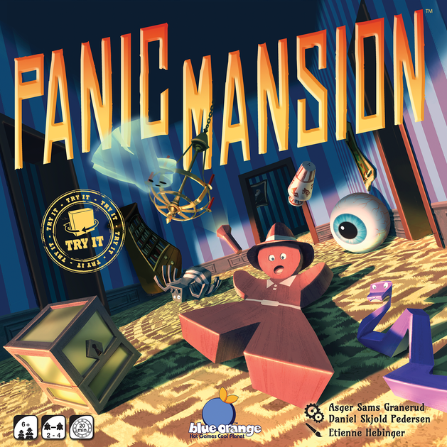 Designer Diary Panic Mansion Or Waiter Theres A Rolling Eye In - Mansion design games