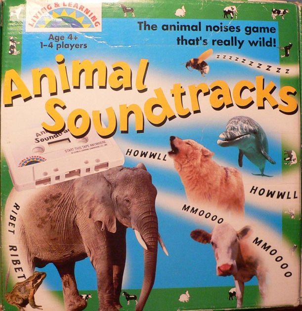 animal soundtracks board game boardgamegeek