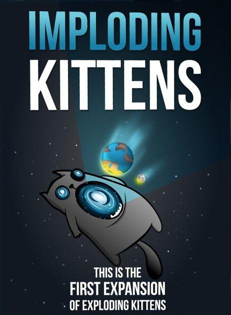 Asmodee 3558380058045 Imploding Kittens