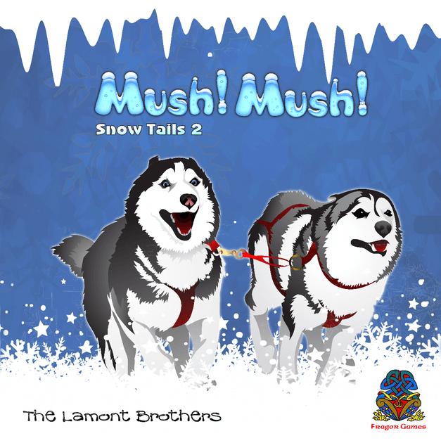 Mush Mush Snow Tails 2 Board Game Boardgamegeek