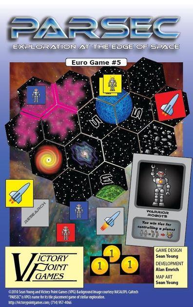 PARSEC   Board Game   BoardGameGeek