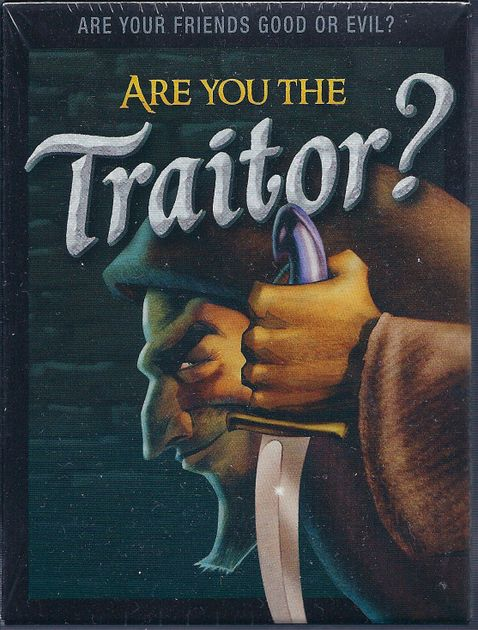 Are You The Traitor Board Game Boardgamegeek