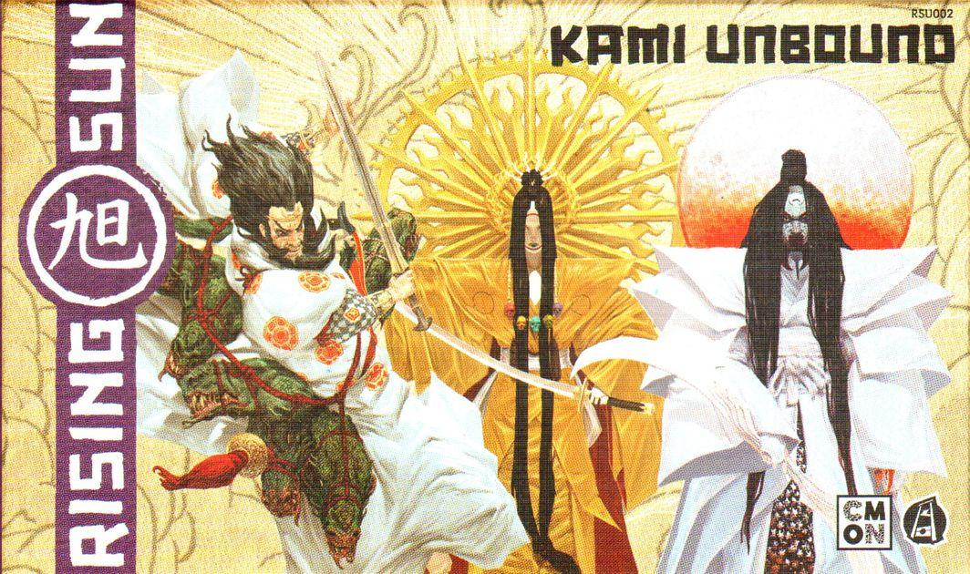 CMON Rising Sun Kickstarter Kami Unbound Susando w//Card /& Shrine Tile