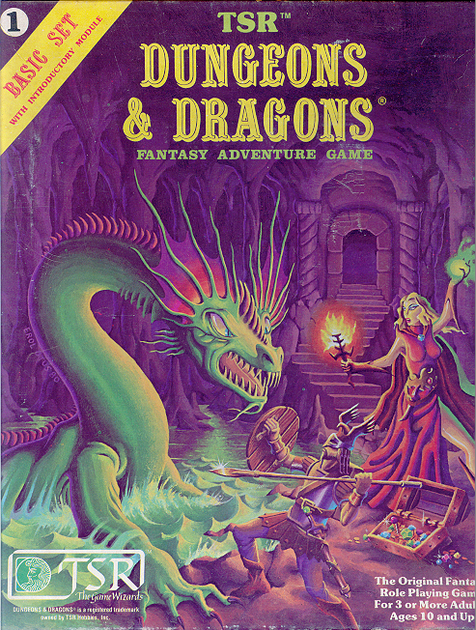 Dungeons & Dragons Basic Set (Second Edition) | RPG Item | RPGGeek