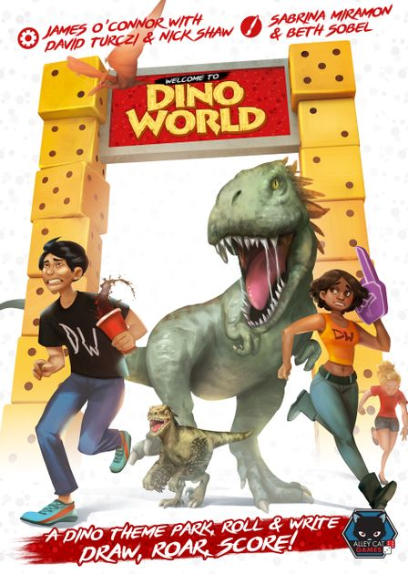 Review: Welcome to Dino World:: Two off the Top: Welcome to Dino World