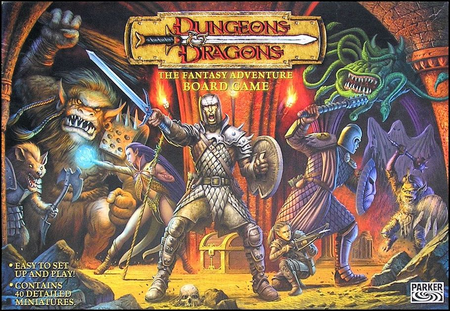 Image result for dungeons and dragons board game 2003
