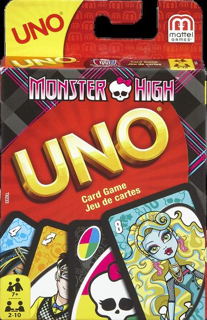 UNO: Monster High | Board Game | BoardGameGeek