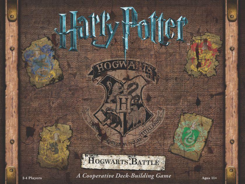 Harry Potter Hogwarts Battle Board Game Boardgamegeek