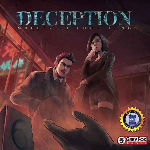 Deception: Murder in Hong Kong | Board Game | BoardGameGeek