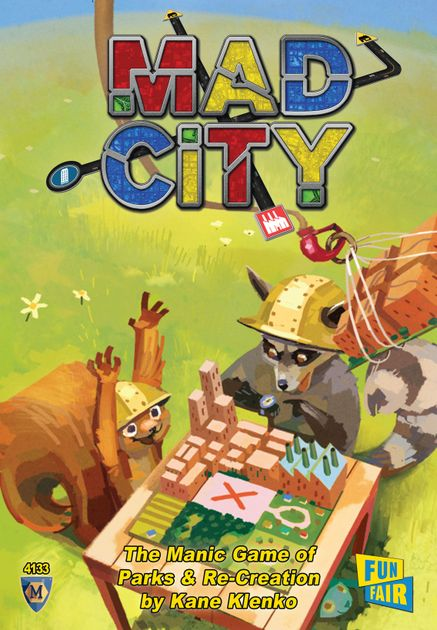 Mad City Board Game Boardgamegeek