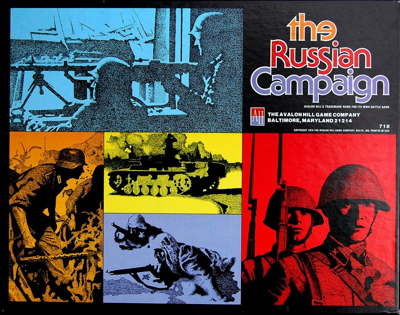 The Russian Campaign | Board Game | BoardGameGeek