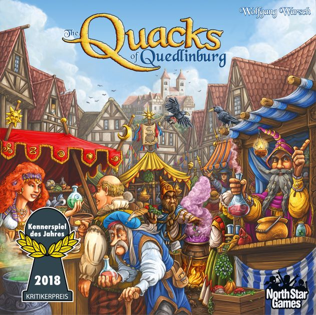 The Quacks of Quedlinburg | Board Game | BoardGameGeek