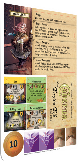 The Forgotten Folk Expansion Caverna