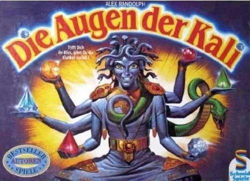 Die Augen der Kali   Board Game   BoardGameGeek