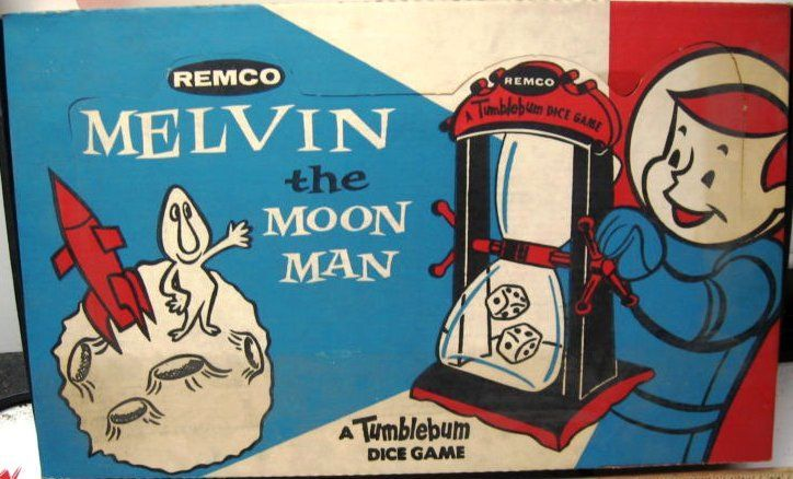 Image result for melvin the moon man game