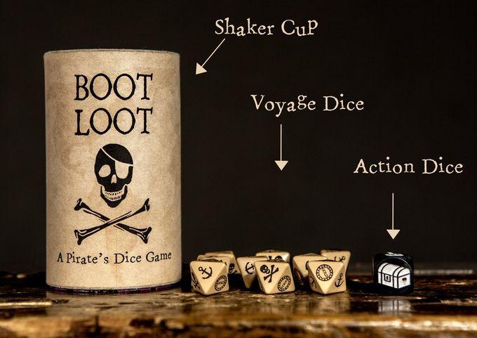 Boot Loot  A Pirate s Dice Game  54dda9ba5546