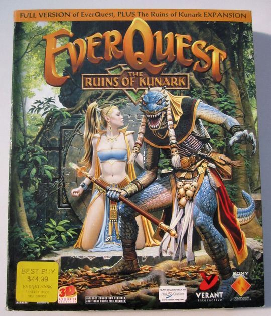 EverQuest: The Ruins of Kunark | Video Game | VideoGameGeek