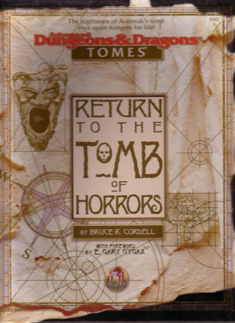 Return to the Tomb of Horrors | RPG Item | RPGGeek