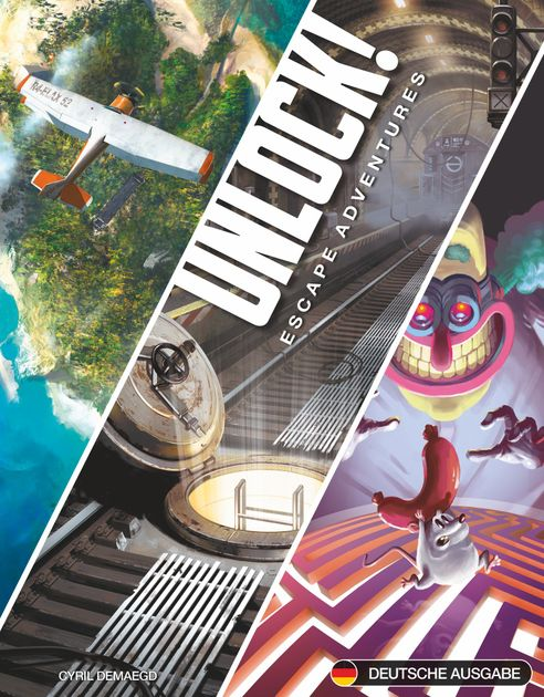 Box 3 Space Cowboys Unlock! deutsch Secret Adventures