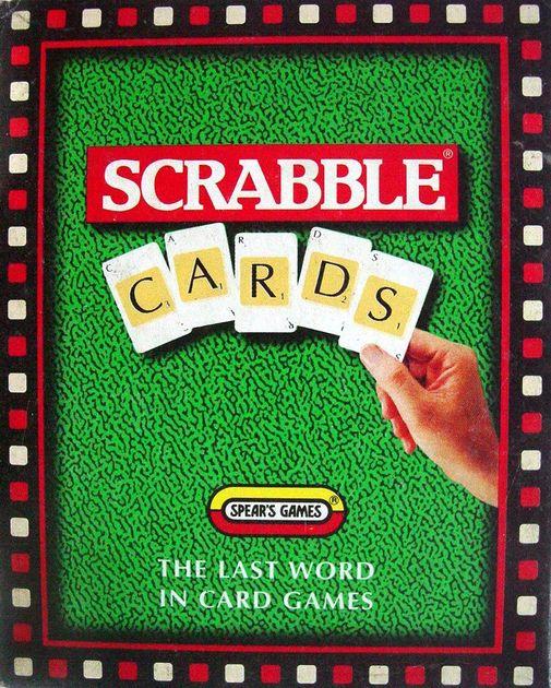 Scrabble Card Game | Board Game | BoardGameGeek