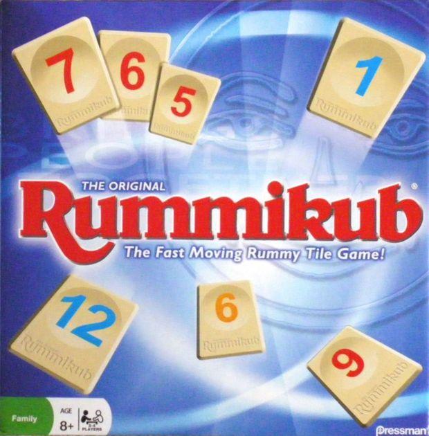 Rummikub Board Game Boardgamegeek