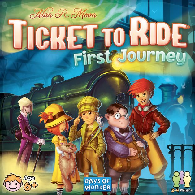 gameplay differences? | Ticket to Ride: First Journey (U S