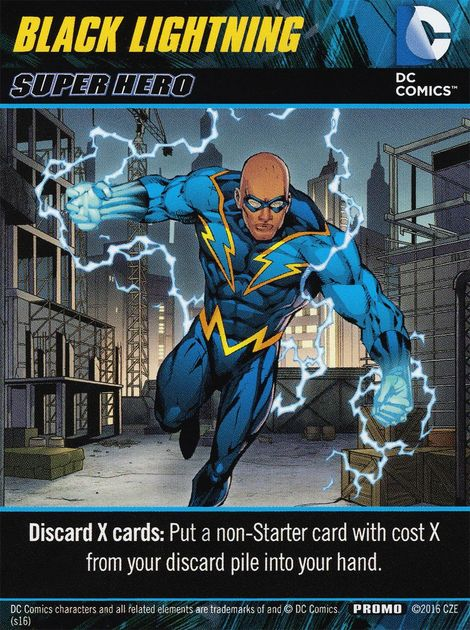 Dc Comics Deck Building Game Black Lightning Image