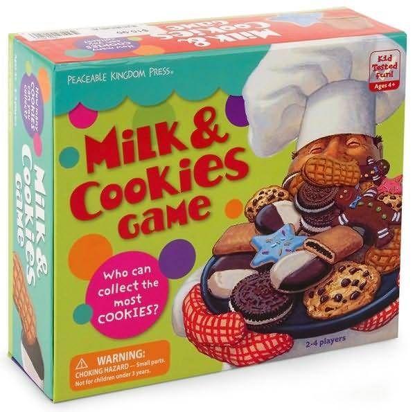Milk & Cookies Game   Board Game   BoardGameGeek