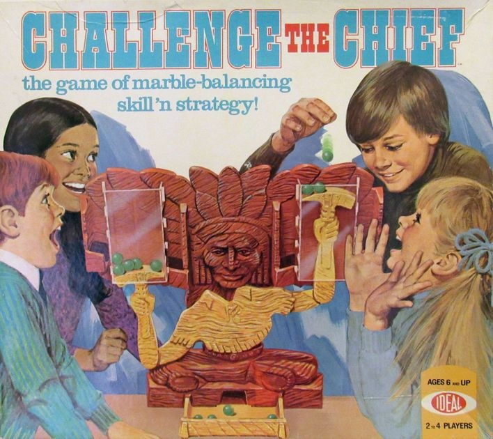 Challenge the Chief | Board Game | BoardGameGeek