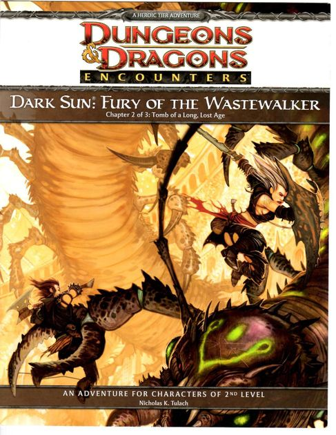 Fury of the Wastewalker - Chapter 2, Tomb of a Long, Lost