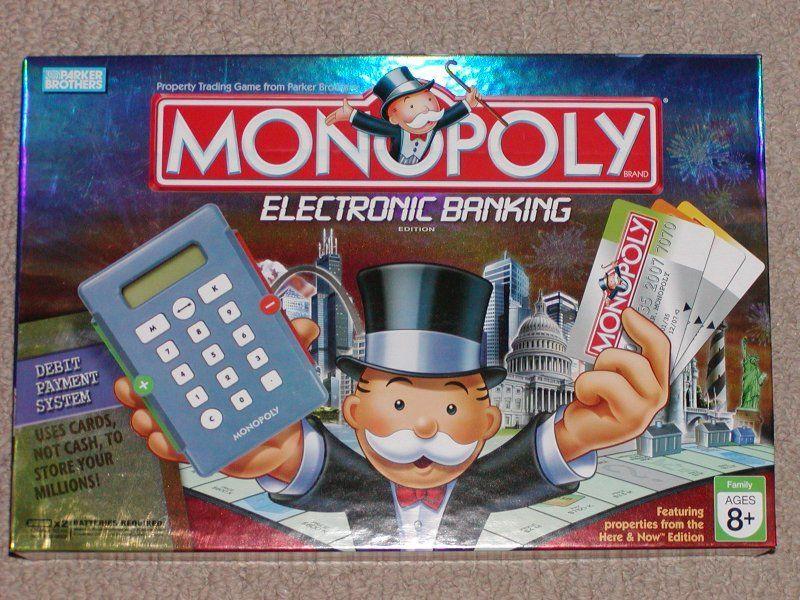 Monopoly Electronic Banking Board Game Boardgamegeek