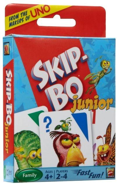 Mattel Games Skip-Bo Junior Card Game