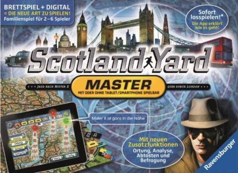 scotland yard game how to play