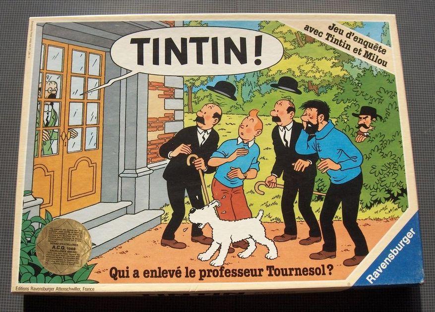 Tintin Board Game Boardgamegeek