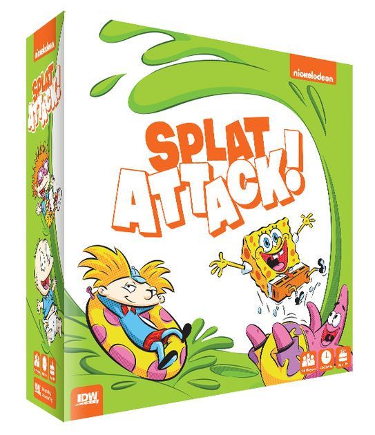 Nickelodeon Splat Attack! | Board Game | BoardGameGeek