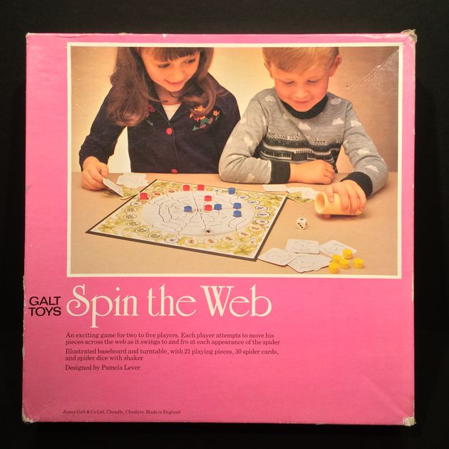 Stupendous Spin The Web Board Game Boardgamegeek Download Free Architecture Designs Scobabritishbridgeorg