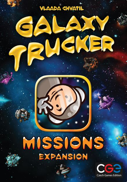Galaxy Trucker Board Game Missions Expansion