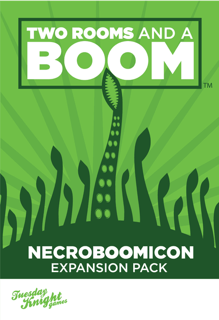 Two Rooms and a Boom: Necroboomicon Expansion Pack | Board Game ...