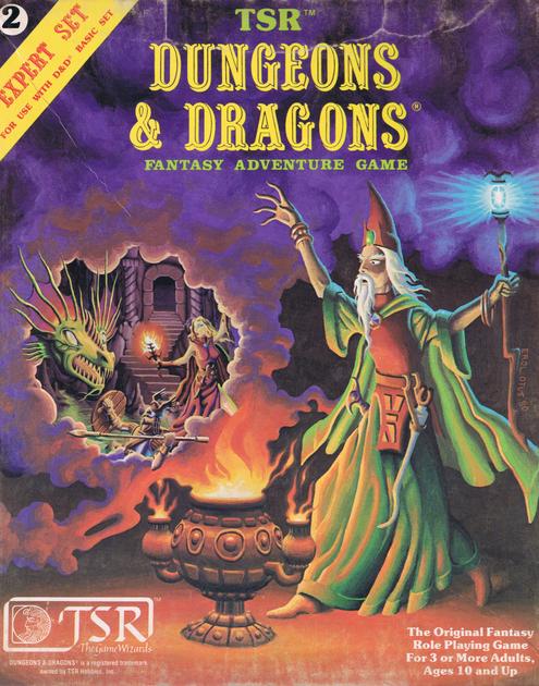 Dungeons & Dragons Expert Set | RPG Item | RPGGeek