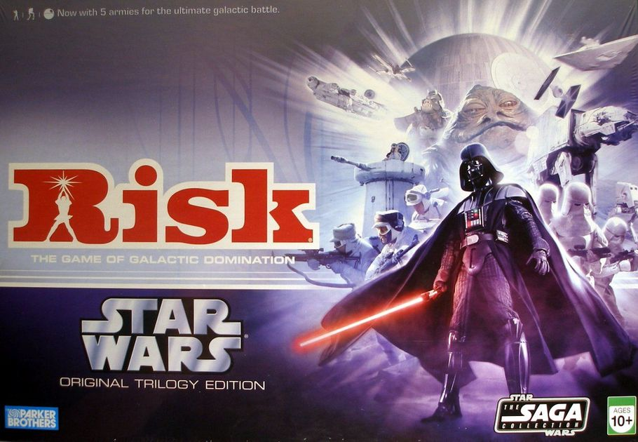 Risk Star Wars Original Trilogy Edition Board Game Boardgamegeek