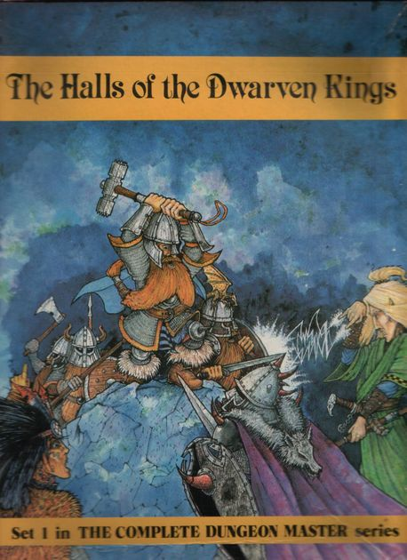 Image result for The Halls Of The Dwarven King Integrated Games