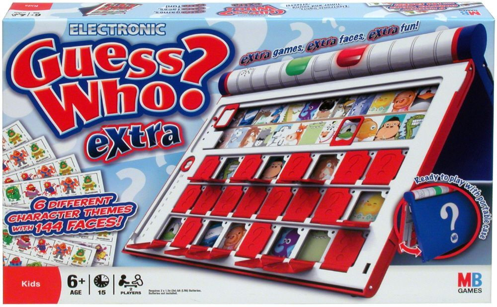 Guess Who Extra Board Game Boardgamegeek