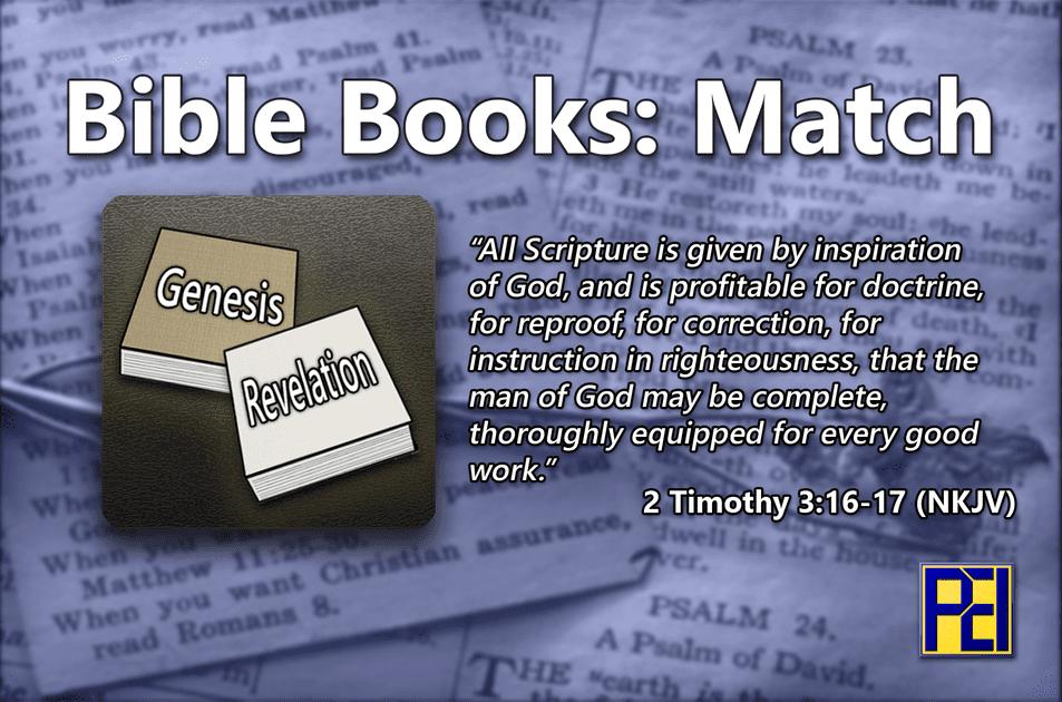 Bible Books: Match | Board Game | BoardGameGeek