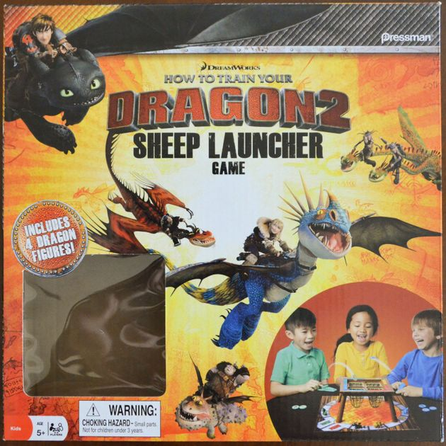How to train your dragon 2 sheep launcher game board game how to train your dragon 2 sheep launcher game board game boardgamegeek ccuart Gallery
