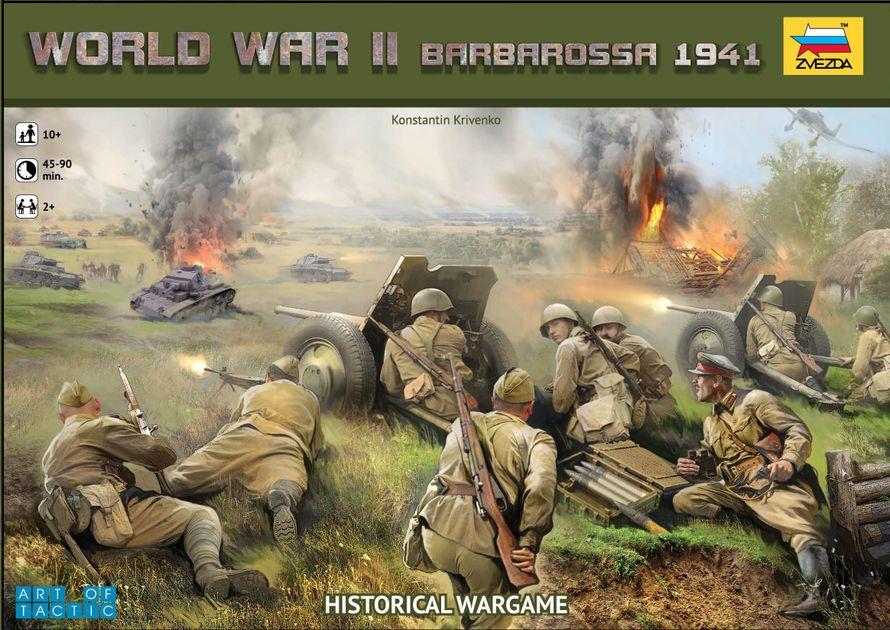 World War II: Barbarossa 1941 | Board Game | BoardGameGeek