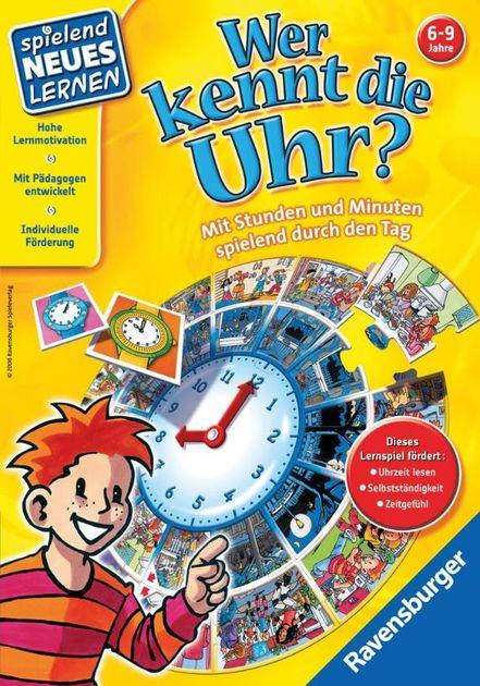 FX Schmid Learn Fun Lernspiel Uhr
