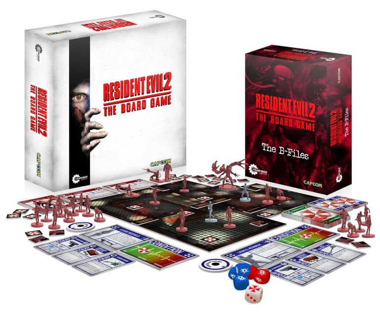 My Opinion Resident Evil 2 The Board Game Boardgamegeek