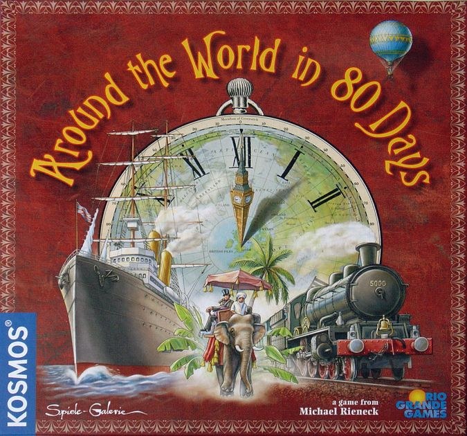 Around the World in 80 Days | Board Game | BoardGameGeek